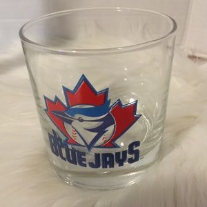 ❤️3/15❤️Vintage Blue Jay's Highball Glass